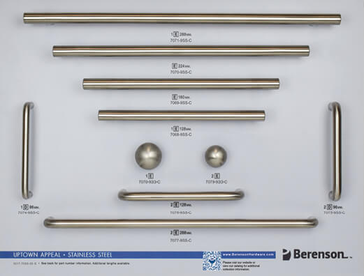 Stainless Steel Display Board