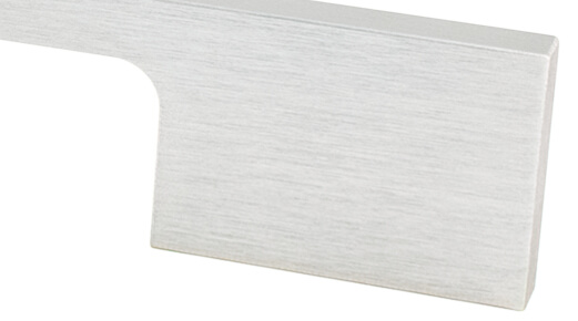 Brushed Nickel Look cabinet hardware
