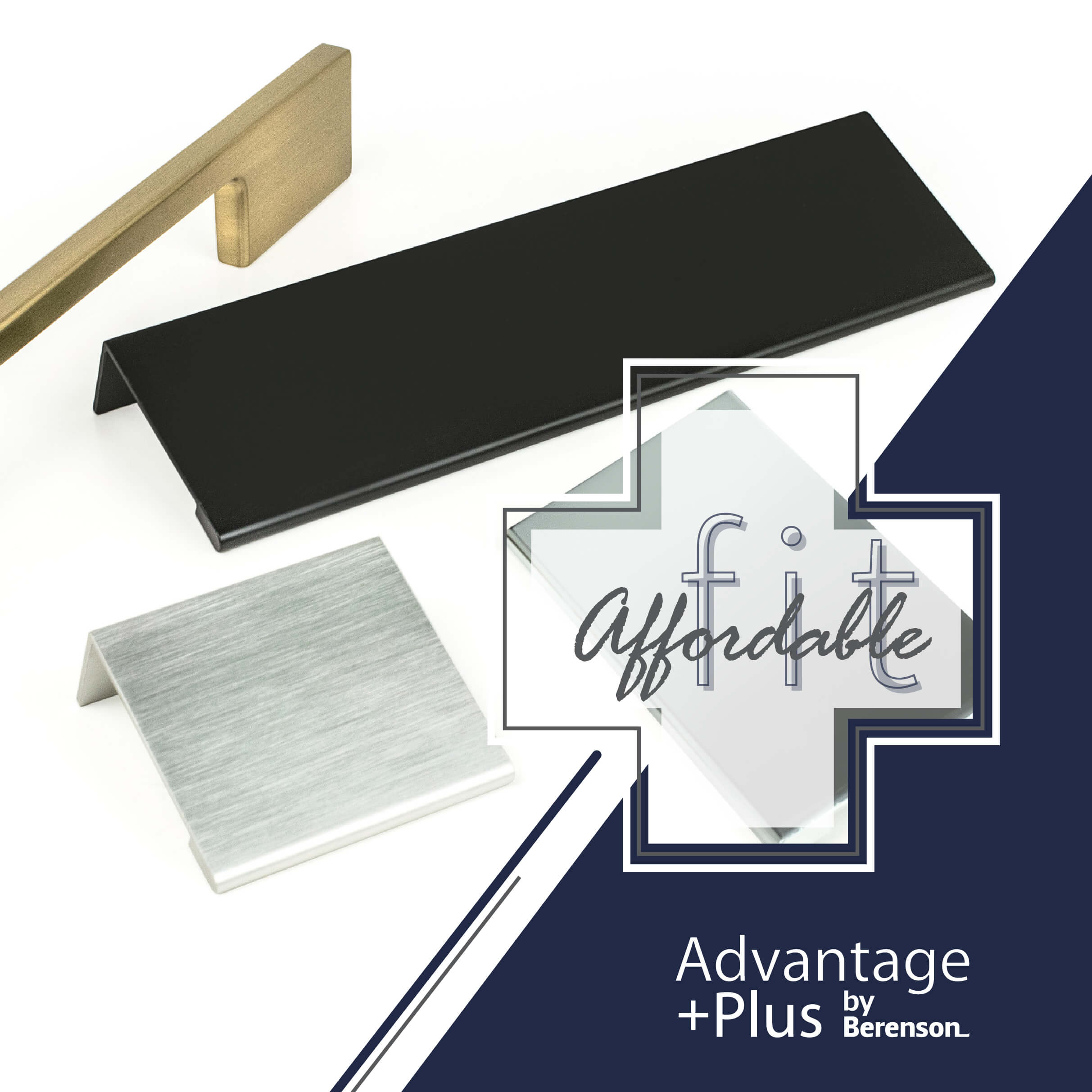 Advantage Plus by Berenson Affordable Fit Hardware