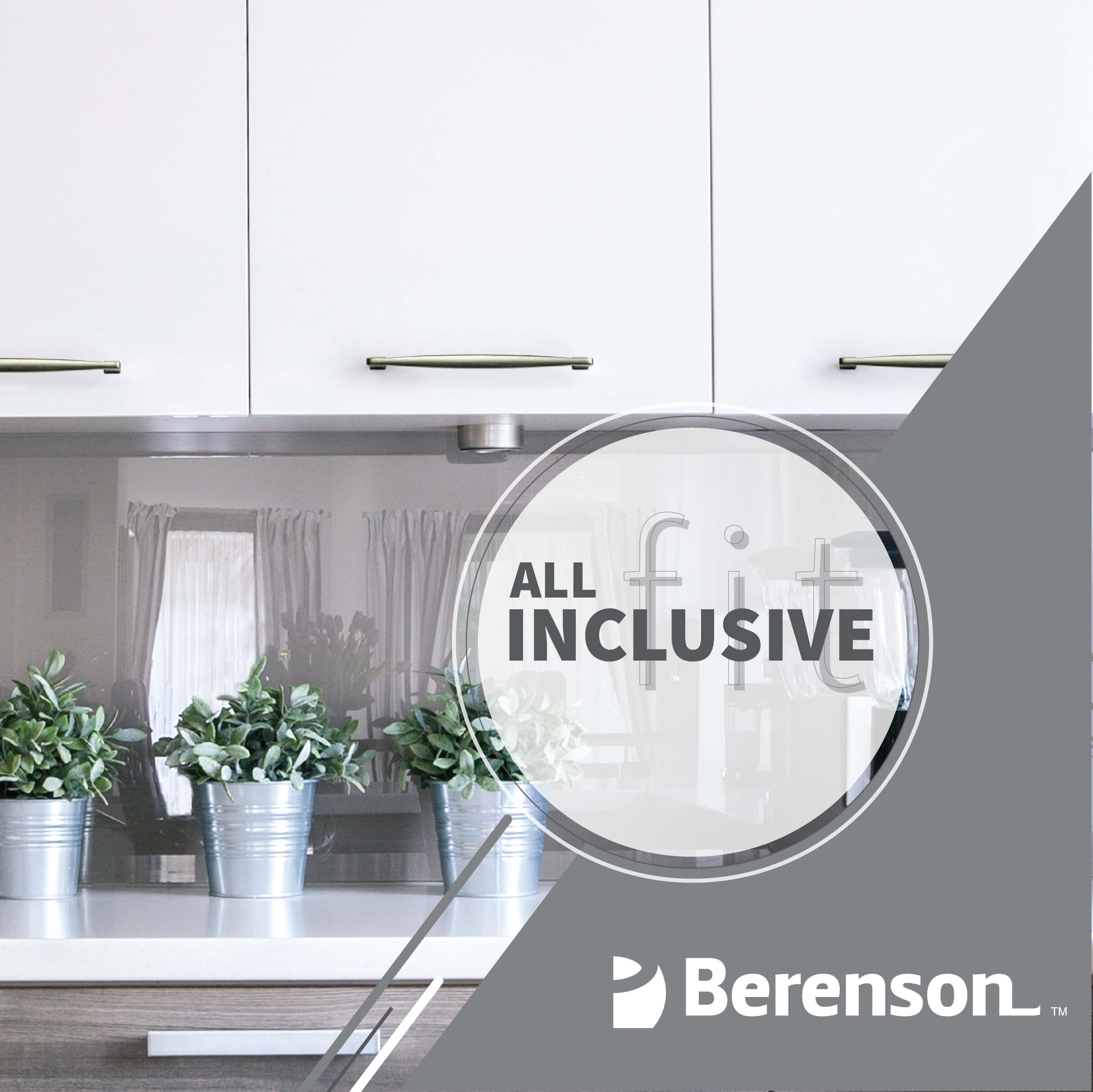 Berenson All Inclusive Fit Hardware