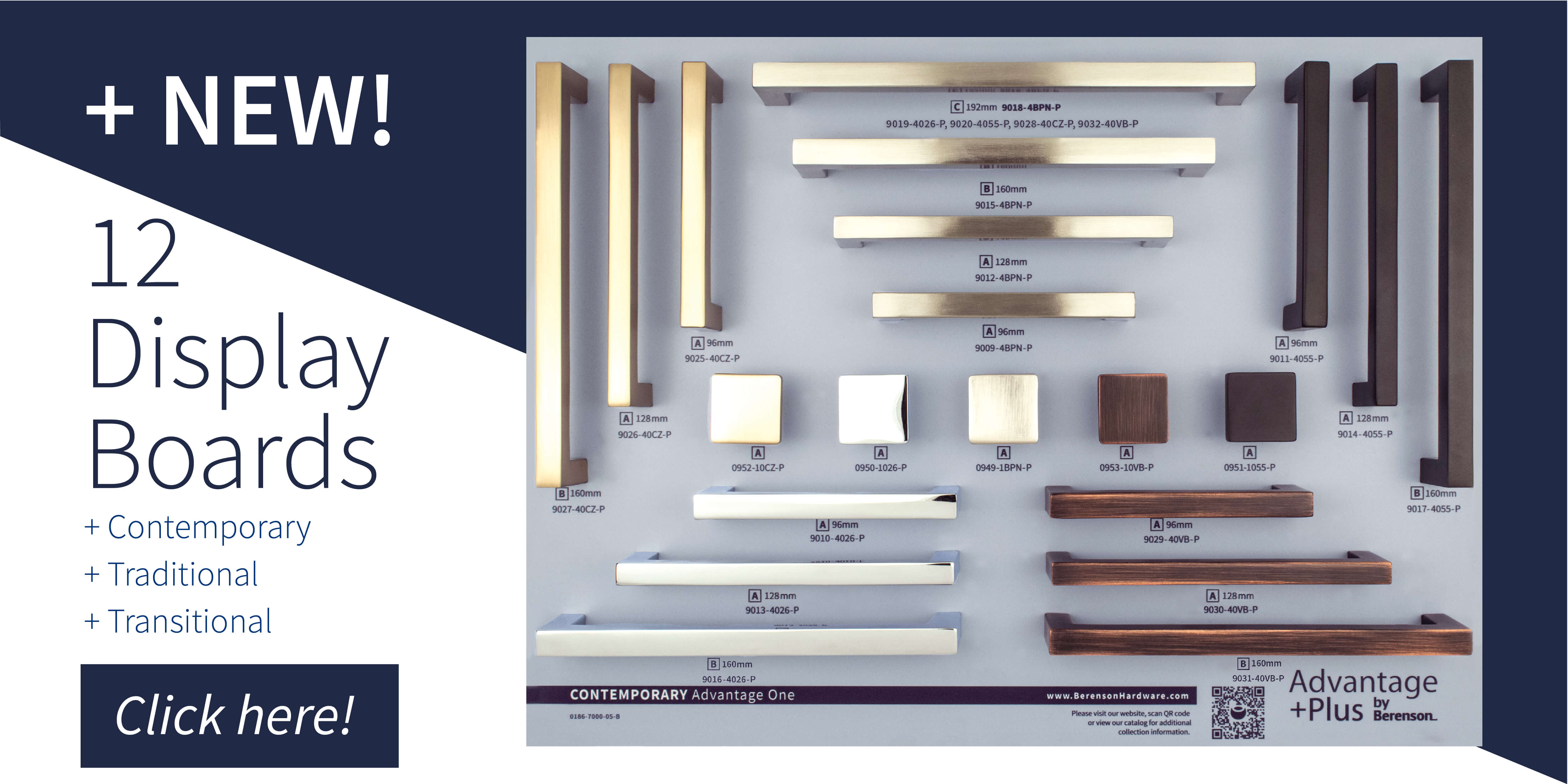 Advantage Plus by Berenson Display Boards