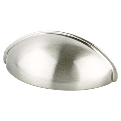Tran-Adv03 64mm Brushed Nickel Cup Pull