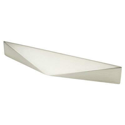 Facet 96mm Brushed Nickel Pull