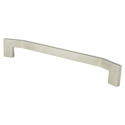 Angle 224mm Brushed Nickel Pull