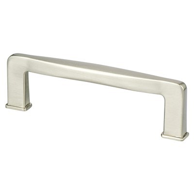 Subtle Surge 96mm Brushed Nickel Pull