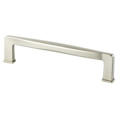 Subtle Surge 128mm Brushed Nickel Pull
