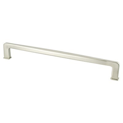 Subtle Surge 224mm Brushed Nickel Pull