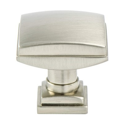 Tailored Tradition. Brushed Nickel Knob