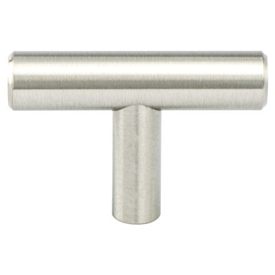 Tempo Brushed Nickel Knob