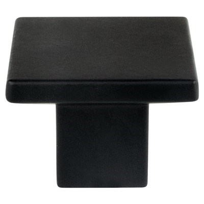 Elevate Small Matte Black Knob