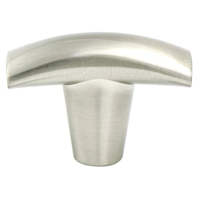 Meadow Brushed Nickel Knob