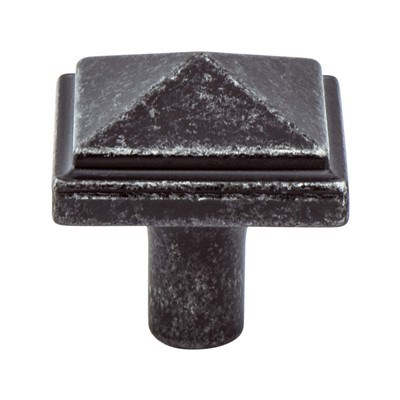 Rhapsody Weathered Iron Knob