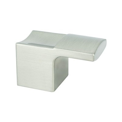 Segment Brushed Nickel Knob