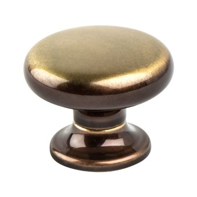 Valencia Brushed Bronze Small Knob