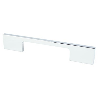 Cont-Adv02 96mm P.Chrome Rectangle Pull