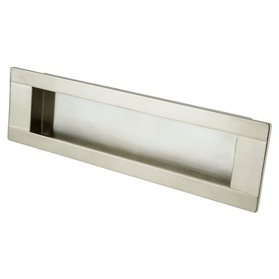Seize Brushed Nickel Recess Pull