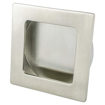 Stylus Brushed Nickel Recess Pull