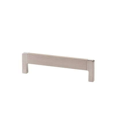 Lungo 128mm Brushed Nickel Pull