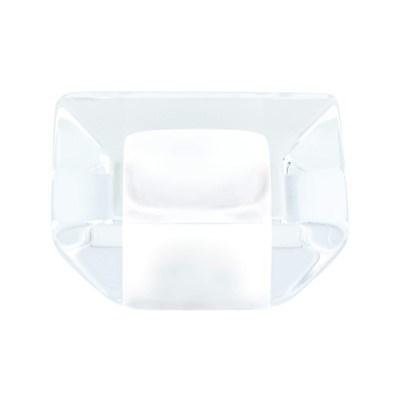 Core Transparent White Knob