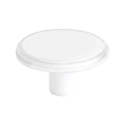 Next Transparent White Knob