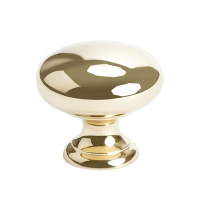 Plymouth Polished Brass Knob