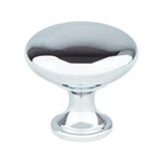 Adv-Knobs Polished Chrome Round Knob