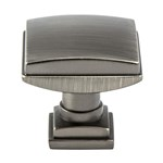 Tailored Tradition. Vintage Nickel Knob