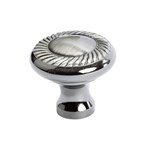 Newport Brushed Black Nickel Knob