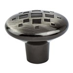 Overture Rustic Black Nickel Knob