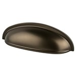 Adagio 3in Oil Rubbed Bronze Cup Pull