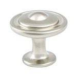 Trad-Adv03 Brushed Nickel Button Knob