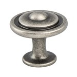 Trad-Adv03 Weathered Nickel Button Knob