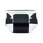 Core Transparent Black Knob