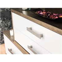 Jazz 160mm Brushed Nickel Pull