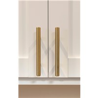 Tempo 128mm Modern Brushed Gold Pull